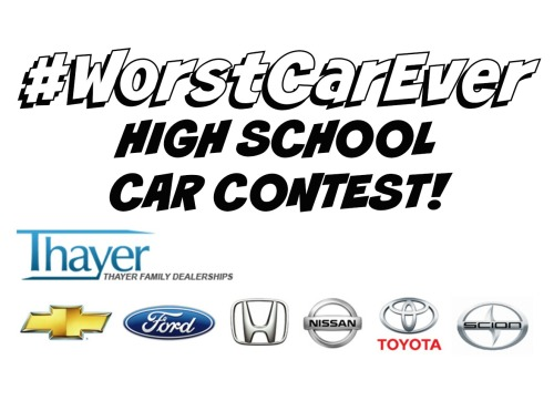 #WorstCarEver High School Car Contest