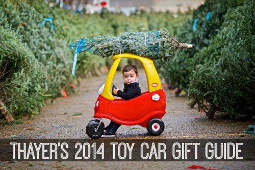 thayers 2014 toy car gift guide