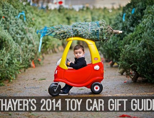 Thayer's 2014 Toy Car Gift Guide