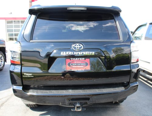 Benefits of Toyota Certified Pre-Owned
